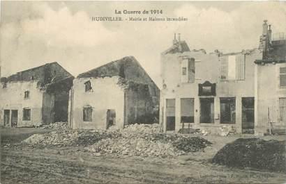 "CPA FRANCE 54 ""Hudiviller, bombardements 1914"""
