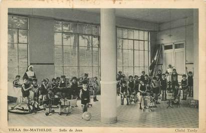 """CPA FRANCE 42 """"Izieux, villa Sainte Mathilde, la salle de jeux"""""""