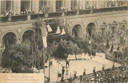 """CPA FRANCE 42 """"Saint Etienne, Fêtes du 14 juillet 1906"""""""