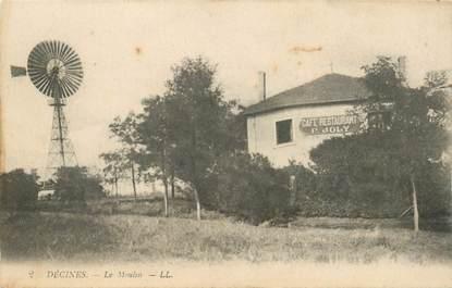 """CPA FRANCE 38 """"Décines, le Moulin"""""""