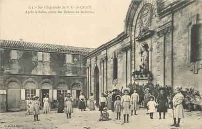 """CPA FRANCE 30 """"Rochefort du Gard, ND de Grace"""""""