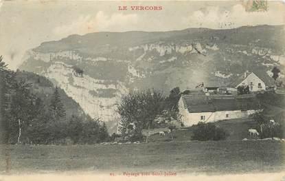 """CPA FRANCE 26 """"Le Vercors, Saint Julien"""""""