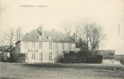 """CPA FRANCE 14 """"Creullet, le chateau"""""""