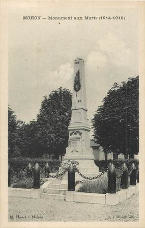 """CPA FRANCE 08 """"Mohon, monument aux morts"""""""