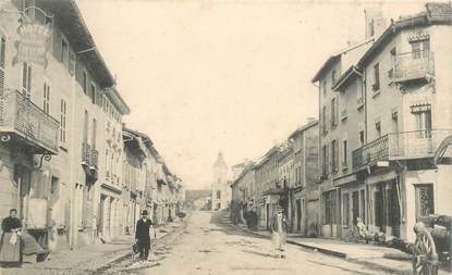 "CPA FRANCE 01 ""Meximieux, avenue de Lyon"""