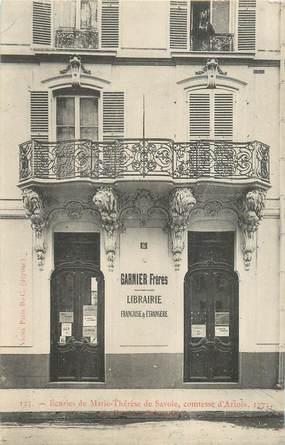 """CPA FRANCE 75003 """"Paris, Librairie, Garnier Frères"""""""