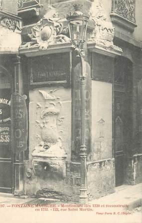 """CPA FRANCE 75004 """"Paris, Fontaine Maubuée"""""""