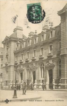 """CPA FRANCE 75005 """"Paris, Université la Sorbonne"""""""