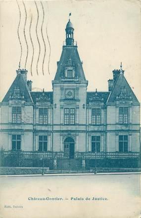 """CPA FRANCE 53 """"Château Gontier, palais de justice"""""""