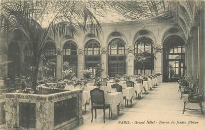 """CPA FRANCE 75009 """"Paris, Grand Hotel Café de la Paix"""""""
