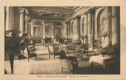 "CPA FRANCE 75009 ""Paris, Hotel Continental"""