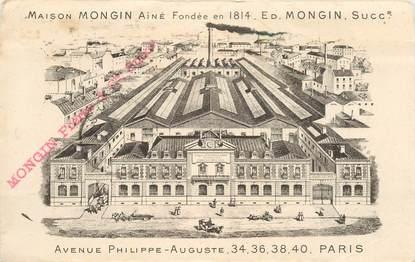 """CPA FRANCE 75011 """"Paris, Maison MONGIN, avenue Philippe Auguste"""