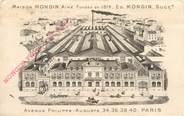 """75 Pari CPA FRANCE 75011 """"Paris, Maison MONGIN, avenue Philippe Auguste"""