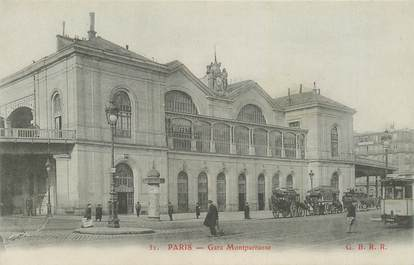 "CPA FRANCE 75014 ""Paris, Gare Montparnasse"""