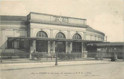 """CPA FRANCE 75014 """"Paris, la Gare des Sceaux"""""""