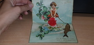 Fantaisie RARE CPA FANTAISIE POP UP / ANGE