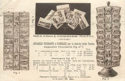 """CPA FRANCE 71 """"Macon, Vente Appareils tournants pour la vente de cartes postales, J. COMBIER"""""""