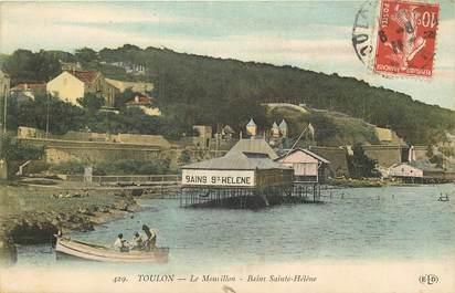 """CPA FRANCE 83 """"Toulon, le Mourillon, Bains Sainte Hélène"""""""