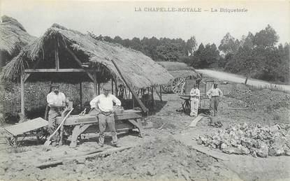 """CPA FRANCE 28 """"La Chapelle Royale, la Briqueterie"""""""