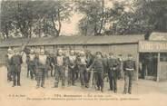 """75 Pari CPA FRANCE 75018 """"Paris, 1906, Montmartre, Peloton du 8e cuirassiers"""""""