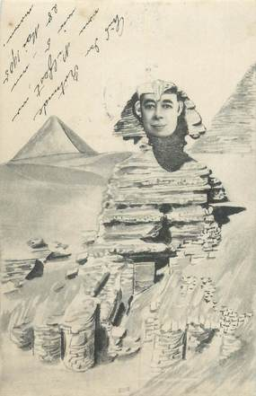 CPA SURREALISME / EGYPTE