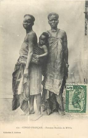 """CPA CONGO """"Brazzaville, Femme"""""""