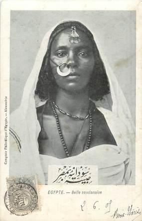"""CPA EGYPTE """"Femme soudanaise"""""""