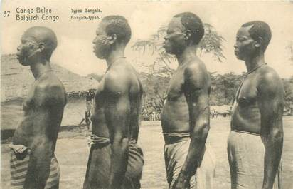 "CPA CONGO BELGE ""Types"""