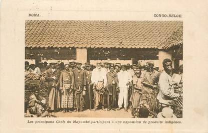 "CPA CONGO BELGE ""Les principaux chefs"""
