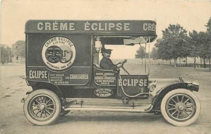 CPA PUBLICITE Créme Eclipse / AUTOMOBILE