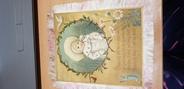 Vieux Papier CARTE Thème de NOEL