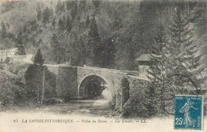 """CPA FRANCE 74 """"Vallée du Borne, les etroits"""""""