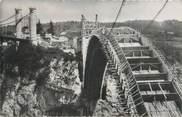 """74 Haute Savoie CPSM FRANCE 74 """"Pont de la Caille, construction du nouveau pont"""""""
