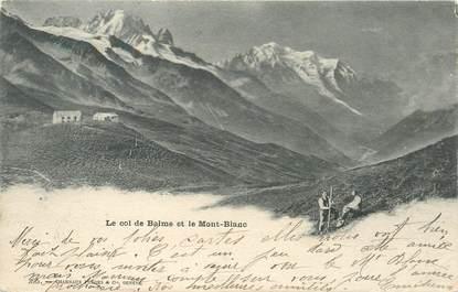 """CPA FRANCE 74 """"Col de Balme, et le Mont Blanc"""""""