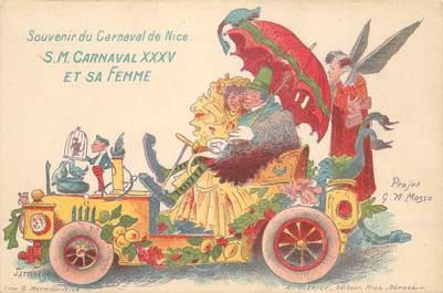 """CPA FRANCE 06 / CARTE PRÉCURSEUR """"Nice, le Carnaval"""""""