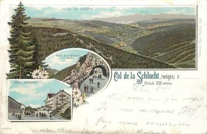 """CPA FRANCE 88 """"Col de la Schlucht"""" / GRUSS / CARTE PRÉCURSEUR"""
