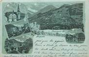 """74 Haute Savoie CPA FRANCE 74 """"Saint Gervais les Bains"""" / GRUSS / CARTE PRÉCURSEUR"""