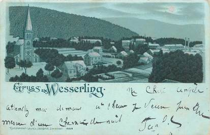 "CPA FRANCE 68 ""Wesserling"" / GRUSS / CARTE PRÉCURSEUR"