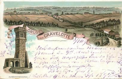 """CPA FRANCE 57 """"Gravelotte"""" / GRUSS / CARTE PRÉCURSEUR 1896"""