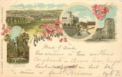 "CPA FRANCE 15 ""Aurillac / GRUSS / CARTE PRÉCURSEUR 1896"