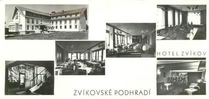 "CPSM PANORAMIQUE REPUBLIQUE TCHEQUE ""Hotel Zvikov, lac d'Orlik"""