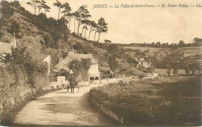"""CPA JERSEY """"La Vallée de Saint Pierre"""""""