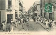 """Algerie CPA ALGERIE """"Blida, café des Maures"""""""