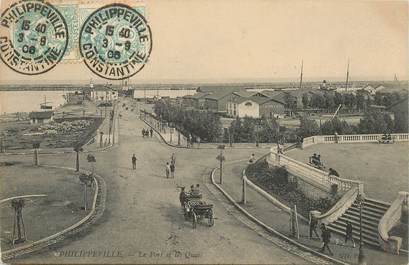 "CPA ALGERIE ""Philippeville, le Port"""