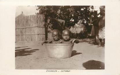 """CPA AFRIQUE """"Zambèze, missions évangéliques"""""""