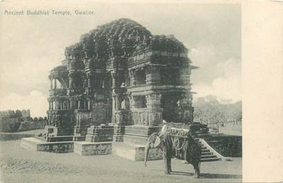 """CPA INDE """"Temple bouddhiste"""""""