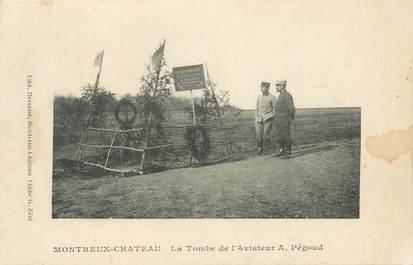 CPA AVIATEUR Adolphe PEGOUD / FRANCE 68