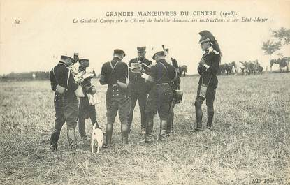 CPA MILITAIRE / 1908