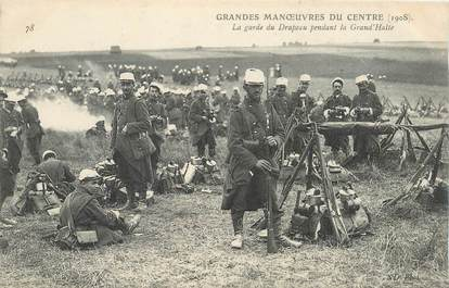 CPA MILITAIRE / 1908 / FUSIL