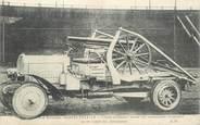 Militaire CPA MILITAIRE / CANON ALLEMAND monté sur automobile